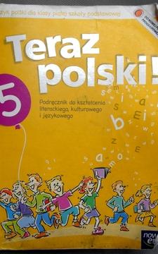 Teraz polski! 5 Podręcznik + Dodatek O świętach /383/