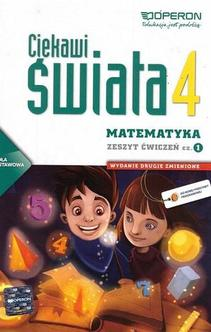 Ciekawi świata Matematyka SP KL 4 ćw. cz. 2
