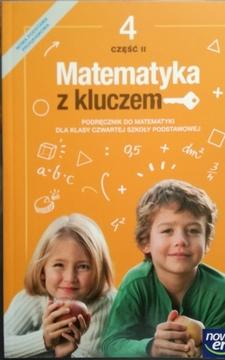 Matematyka z kluczem 4/2 Podrecznik /20450/