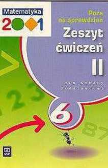 Matematyka 2001 SP kl. 6 ćw. cz. 2