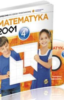 Matematyka 2001 SP kl. 4 Podręcznik
