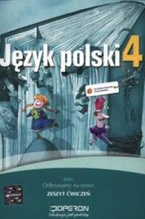 Odkrywamy na nowo Język Polski 4 SP ćw,