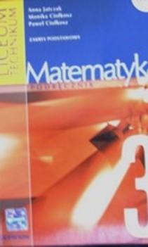Matematyka 3 LO ZP Podręcznik + zbiór zadań