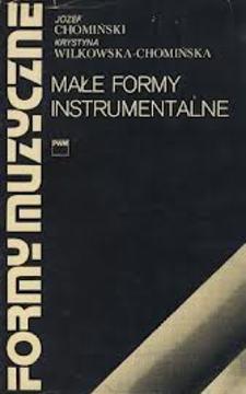 Formy muzyczne I Małe formy instrumentalne /184/