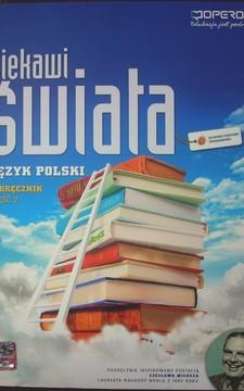 Ciekawi świata Język polski 2 LO ZPiR Podręcznik /20184/