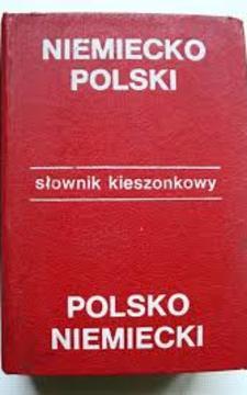 Słownik Kieszonkowy niemiecko-polski polsko-niemiecki /111531/