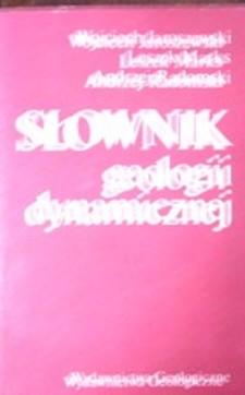 Słownik geologii dynamicznej /32662/