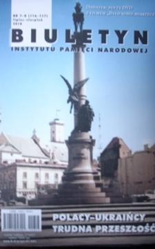 Biuletyn IPN Polacy Ukraińcy trudna przeszłość