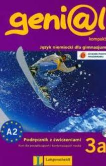 genial kompakt 3a Język niemiecki Podr. z ćwiczeniami