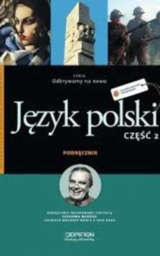 Odkrywamy na nowo Język polski 2 ZSZ Podr.