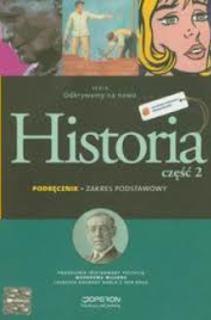 Odkrywamy na nowo Historia 2 ZP Podręcznik