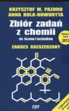 Zbiór zadań z chemii LO ZR