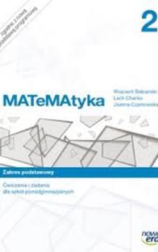 Matematyka 2 Ćwiczenia i zadania LO ZP /9345/