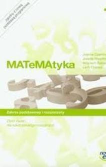 Matematyka 1 Zbiór zadań LO ZPiR /5785/