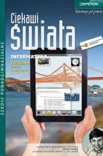 Ciekawi świata Informatyka LO ZP podręcznik