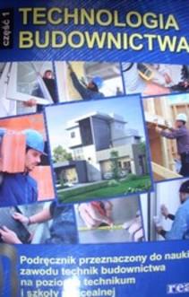 Technologia Budownictwa część 1