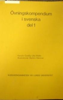 Ovningskompendium i svenka del 1 Język szwedzki Zeszyt ćwiczeń