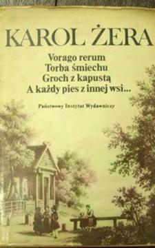 Varago rerum Torba śmiechu Groch z kapustą A każdy pies z innej wsi.../5709/