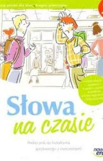 Język polski gim.2 Słowa na czasie podr. kształcenie językowe