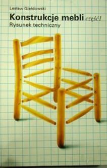 Konstrukcje mebli część 1 Rysunek techniczny