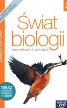 Świat biologii 3 zeszyt ćwiczeń + kod eduQrsor (2014)