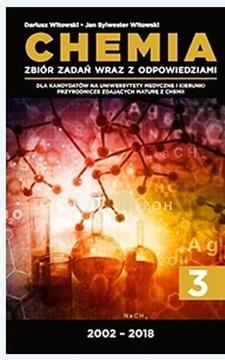 Chemia 3 Zbiór zadań otwartych wraz z odpowiedziami 2002-2018 /20232/