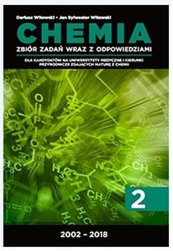 Chemia 2 Zbiór zadań otwartych wraz z odpowiedziami 2002-2018 /20233/