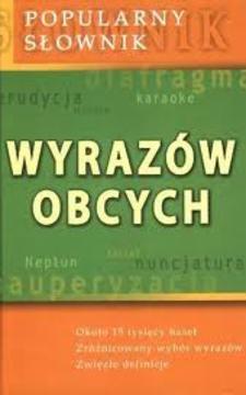 Popularny słownik wyrazów obcych