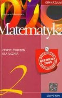 Matematyka 2 gim. ćwicz.