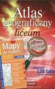 Atlas geograficzny liceum Świat Polska /7586/