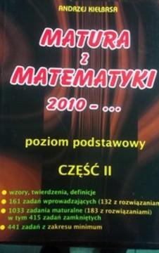 Matura z matematyki 2010 - ... poziom podstawowy cz. II