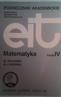 EIT Matematyka cz. IV