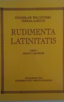 Rudimenta Latinitatis cz. II /33412/