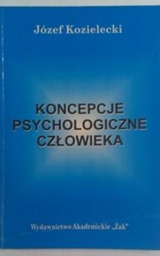 Koncepcje psychologiczne człowieka /32142/