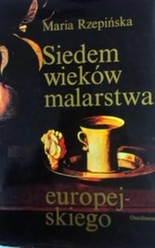 Siedem wieków malarstwa europejskiego /8009/