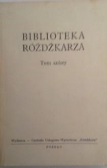 Biblioteka różdżkarza Tom szósty