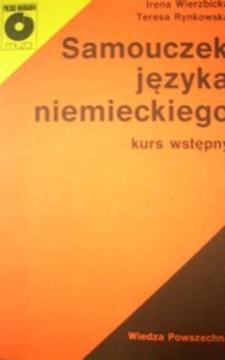 Samouczek języka niemieckiego - Kurs wstępny /5214/