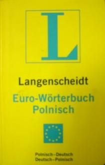 Słownik Langenscheidt Euro-Wörterbuch Polnisch