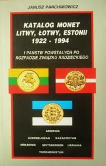 Katalog monet Litwy, Łotwy 1922 - 1994