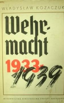 Wermacht 1933-1939 /1631/