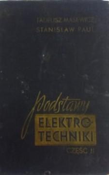 Podstawy elektrotechniki cz. II /893/