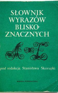 Słownik wyrazów bliskoznacznych /927/
