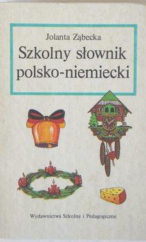 Szkolny słownik polsko-niemiecki