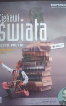 Ciekawi świata Język polski 4 LO ZPiR Podręcznik