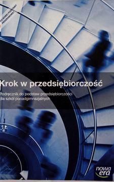Przedsiębiorczość Krok w przedsiębiorczość Podręcznik /9372/