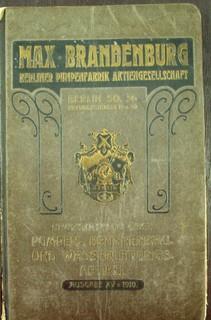 Max Brandenburg Berliner Pumpenfabrik Aktiengesellschaft