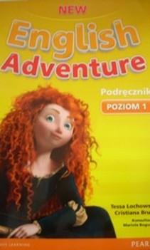 New English Adventure Podręcznik i zeszyt ćwiczeń poziom 1