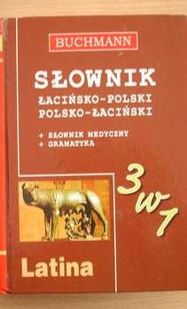 Słownik łacińsko-polski polsko-łaciński