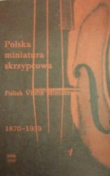 Nuty Polska miniatura skrzypcowa