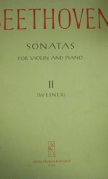 Nuty Sonatas for violin and piano II